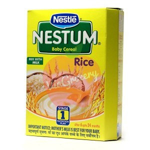 Nestle Nestum Rice Stage 1 300gm