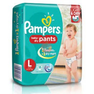 Pampers Baby Dry Diper L 18pc