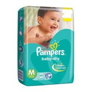 Pampers Baby Dry Diper M-5pc