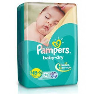 Pampers Baby Dry Diper New Born 24pc