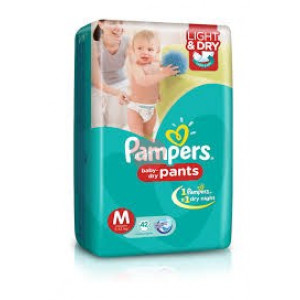 Pampers Baby Dry Pants M 10pc