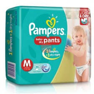 Pampers Baby Dry Pants M 20pc