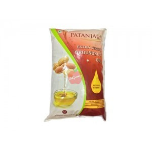 Patanjali Groundnut Oil Pouch 1Ltr