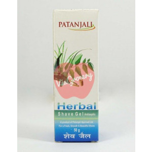 Patanjali Herbal Shave Gel 50gm