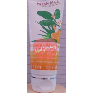 Patanjali Orange Aloe Vera Face Wash 60gm
