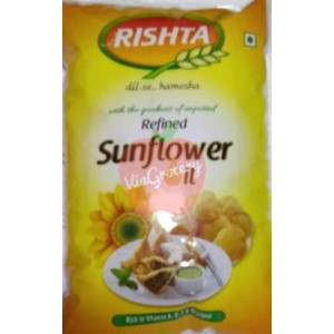 Rishta Refined Sun Flower Oil 1 ltr
