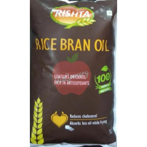 Rishta Rice Bran Oil 1 ltr
