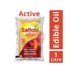 Saffola Active Sunflower Oil 1 ltr