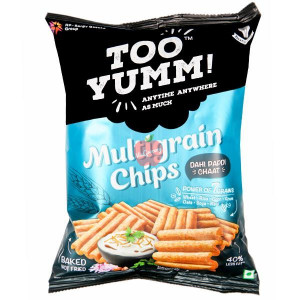 Too Yumm Multigrain Chips Dahi Papdi Chaat 60gm
