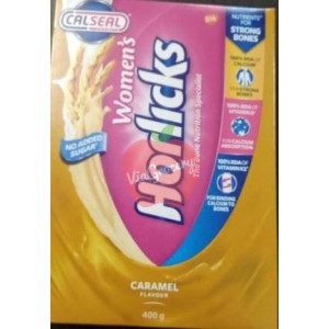 Womens Horlicks Caramel Falvour Tetra Pack 400gm