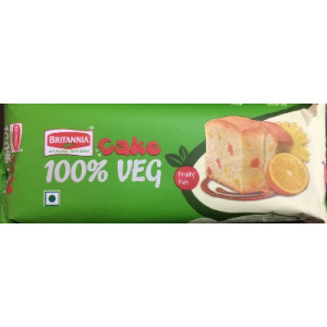Britannia Fruity Fun Veg Cake 70gm