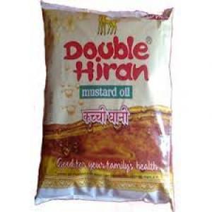 Double Hiran Kachi Ghani Mustard Oil 1 Litre