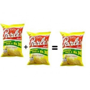 Parle Chips 90gm (Buy 2 Get 1 Free)