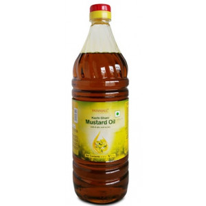 Patanjali Mustard Oil Bottle 1ltr