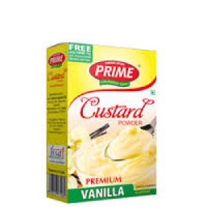 Prime Vanilla Custard Powder 100gm.