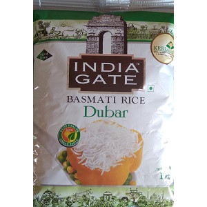 India Gate Dubar Basmati Rice 1kg