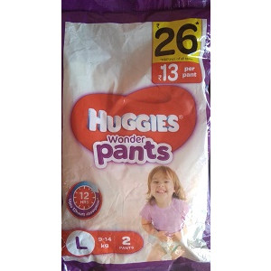 Huggies Wonder Pants Large 2pc