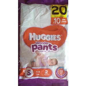 Huggies Wonder Pants Small 2pc