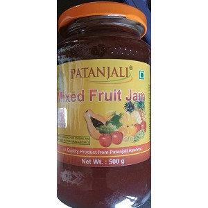 Patanjali Mixed Fruit Jam 500gm.
